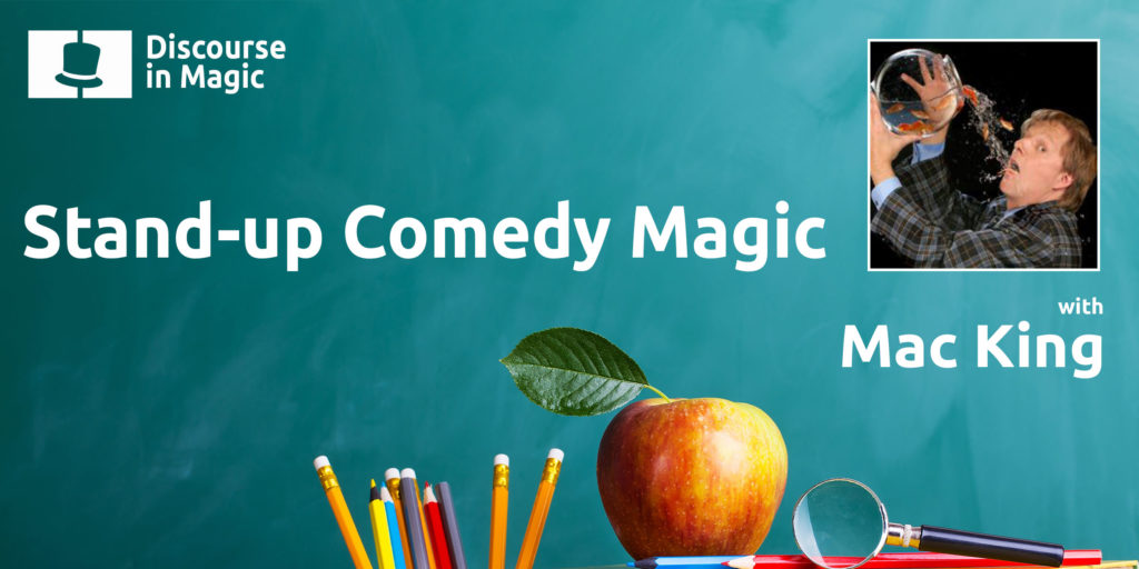 Discourse in Magic Stand-up Comedy Magic with Mac King